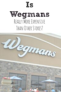 Is Wegmans More Expensive