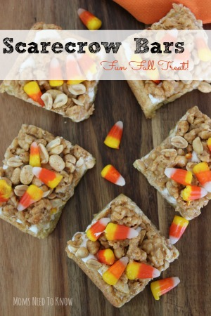 Scarecrow Bars | Fun Fall Party Treat!