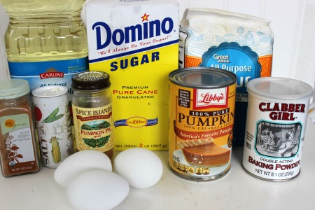 pumpkin cake donuts ingredients