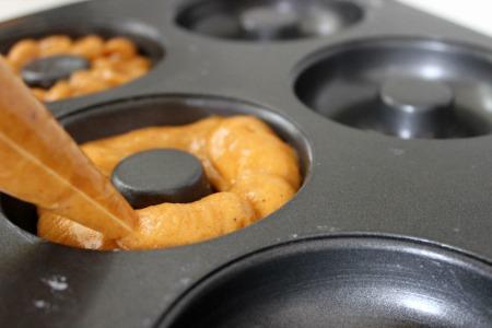 pumpkin cake donuts pan