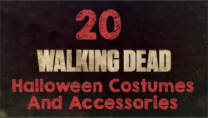 20 The Walking Dead Halloween Costumes and Accessories #TWD