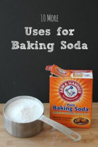 10 More Uses For Baking Soda