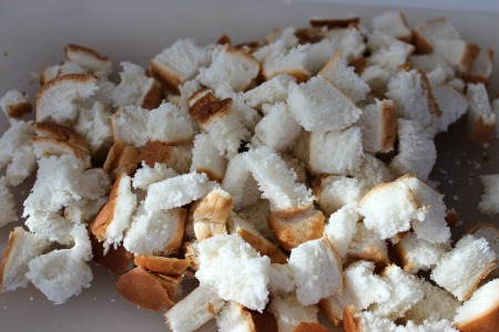 Crockpot Italian Meatballs - Bread