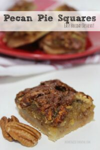 Easy Pecan Pie Squares