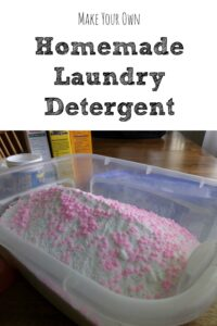 How to Make Your Own Homemade Laundry Detergent