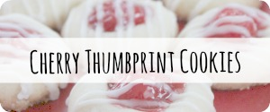 Easy Cherry Thumbprint Cookies Christmas Cookies