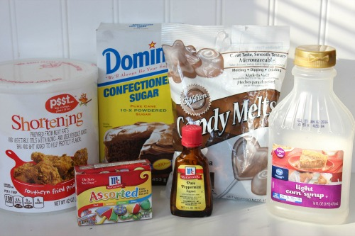 Homemade Peppermint Patties Ingredients