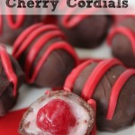 How To Make Homemade Cherry Cordials  or Chocolate Covered Cherries