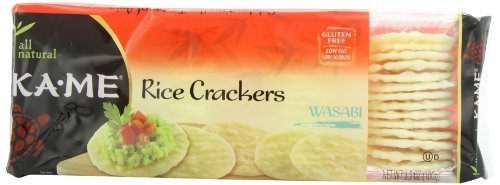 Ka Me Wasabi Rice Crackers
