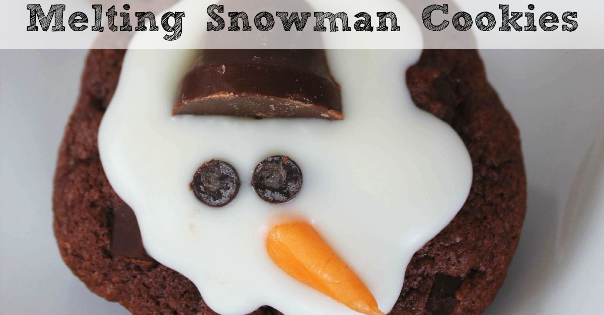 Melting Snowman Cookies FB