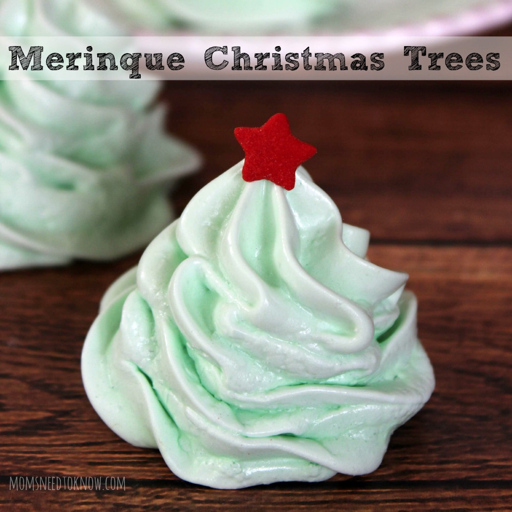 Meringue Christmas Trees sq