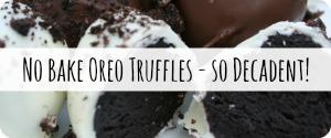 Oreo Truffles Oreo Cake Balls Recipe