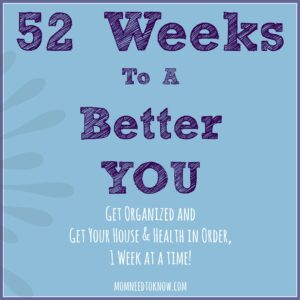 52 Weeks to a Better You