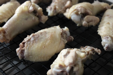 Baked Honey Chipotle Chicken Wings process1