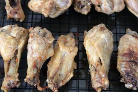 Baked Honey Chipotle Chicken Wings process2