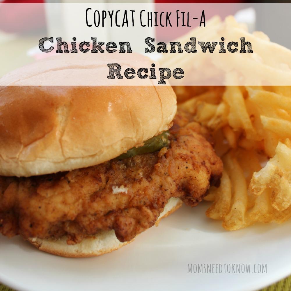 copycat chick fil a chicken sandwich recipe  moms need to