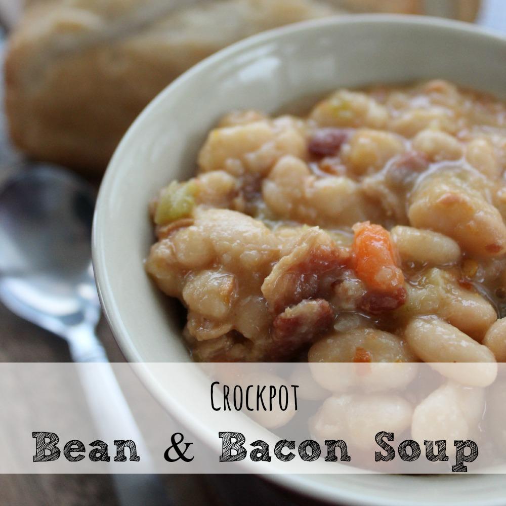 Crockpot Bean n Bacon Soup sq