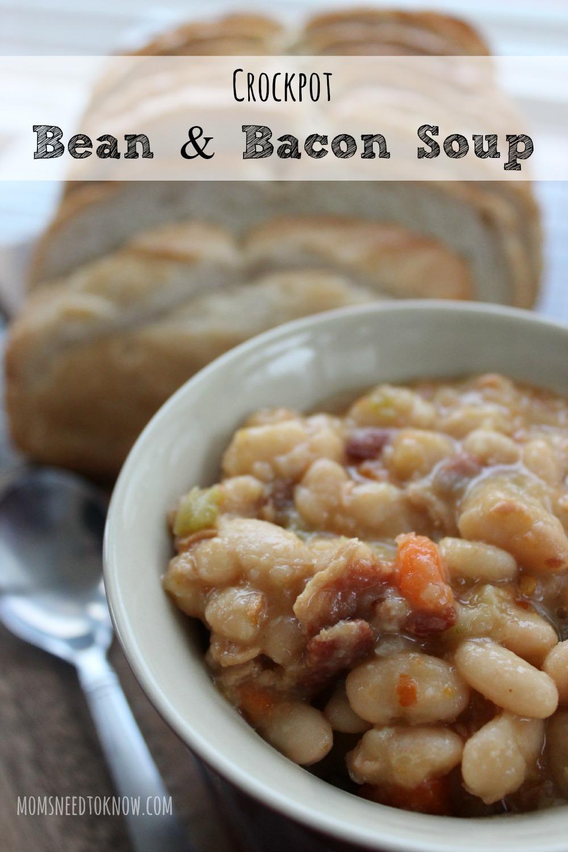 Crockpot Bean n Bacon Soup