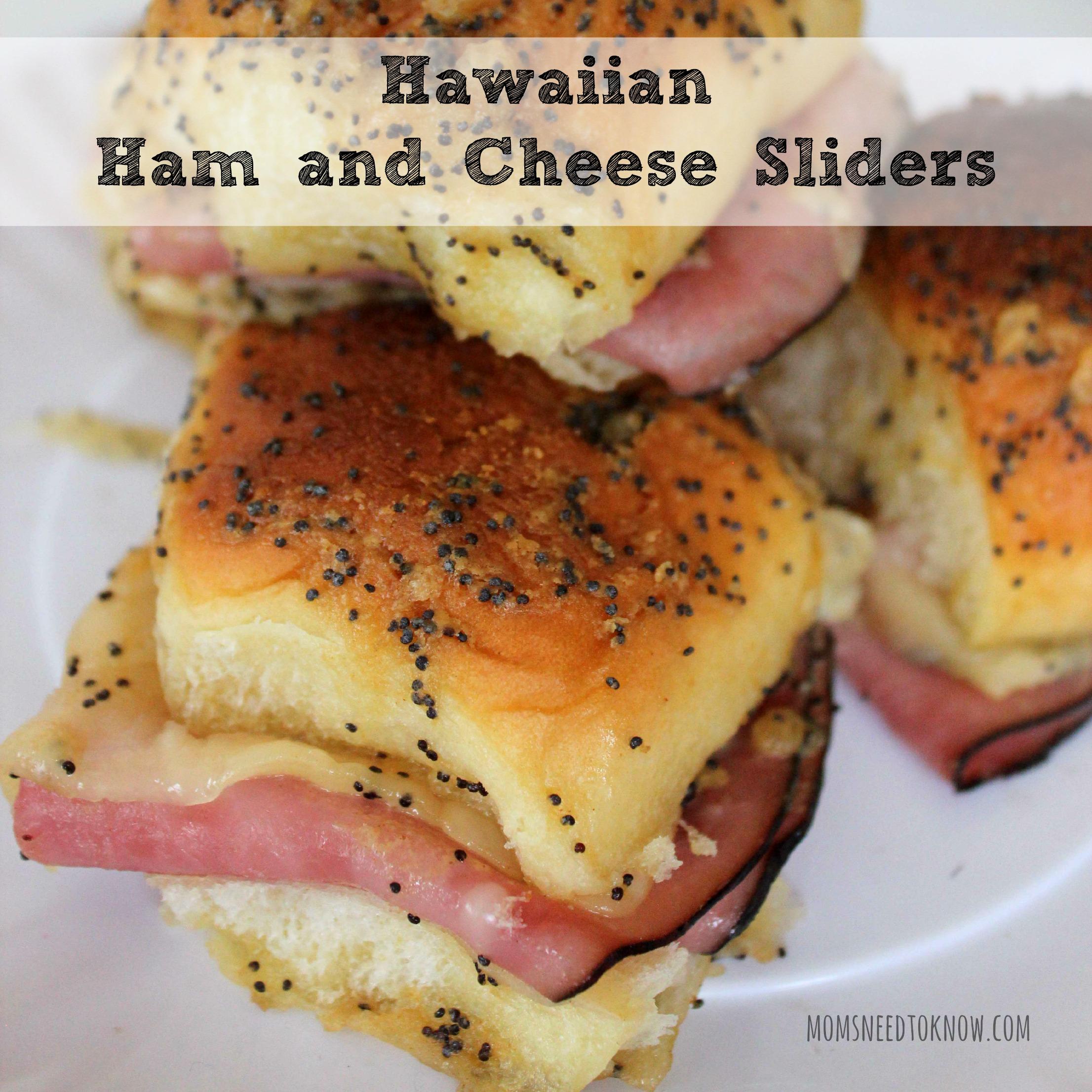 Hawaiian Ham and Cheese Sliders sq