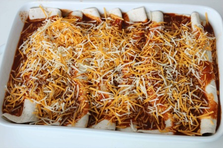 Easy Beef Enchiladas process3
