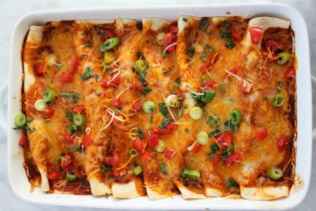 Easy Beef Enchiladas process4