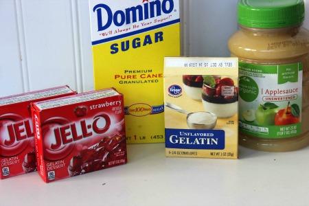 How To Make Homemade Gumdrops iingredients