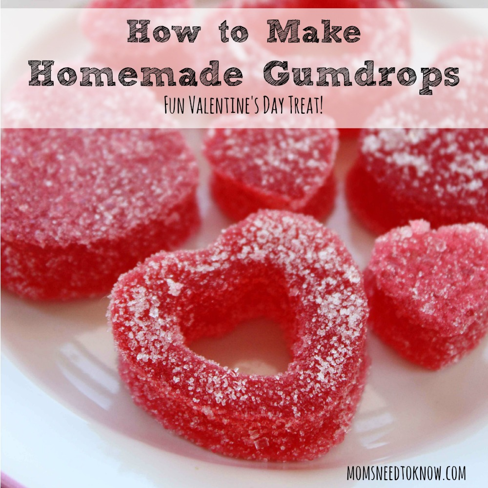 How To Make Homemade Gumdrops sq