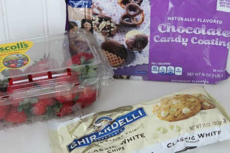 How To Make The Perfect Chocolate Covered Strawberries ingredients