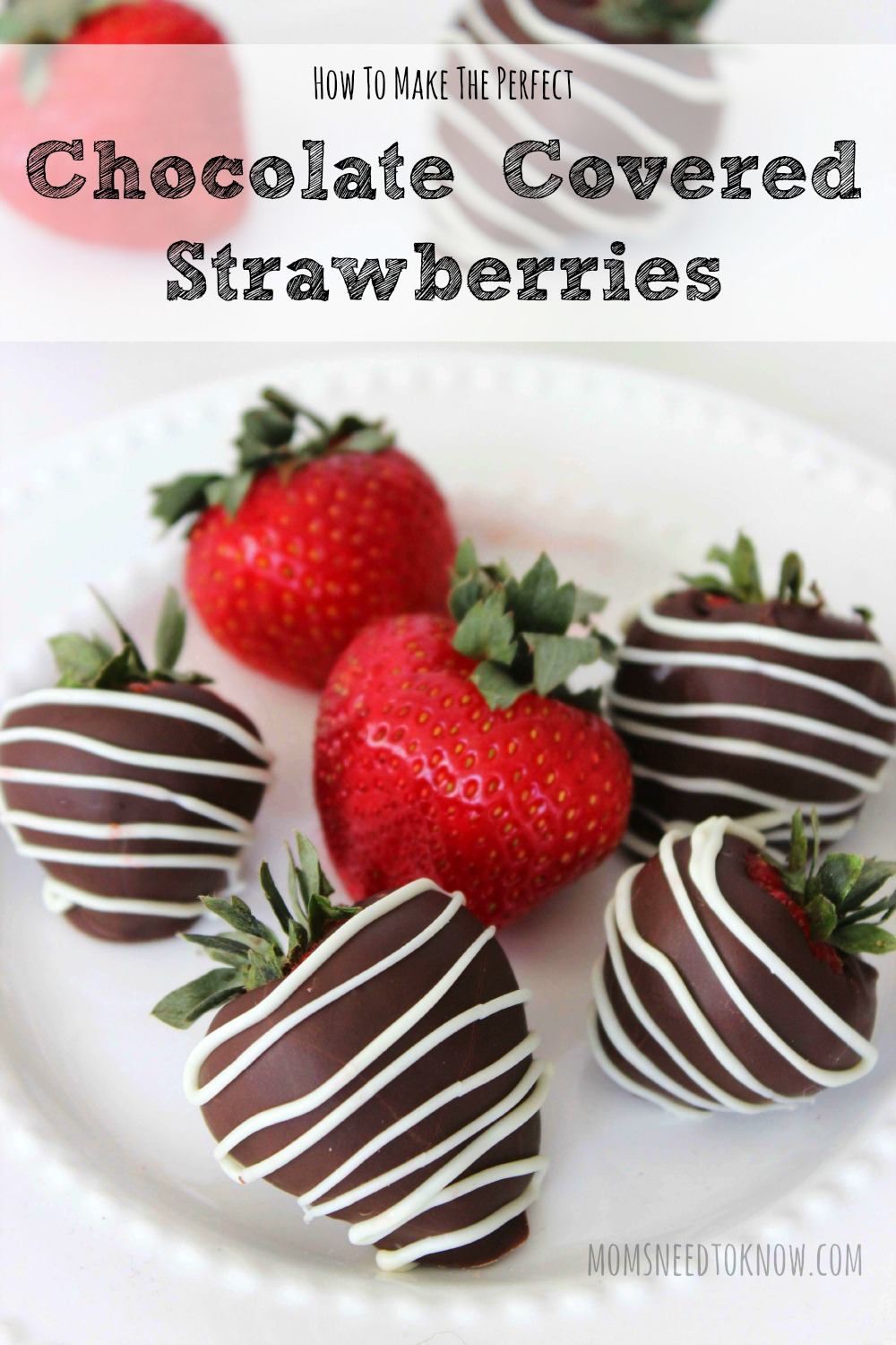 How To Make Perfect Chocolate Covered Strawberries | Moms Need To ...