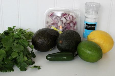 easy guacamole recipe ingredients