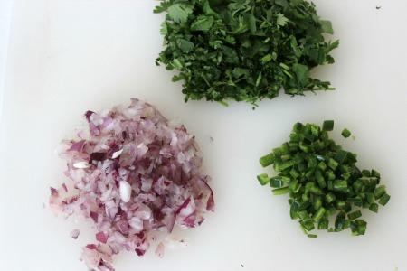 easy guacamole recipe process