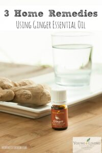 3 Home Remedies Using Ginger Essential Oils