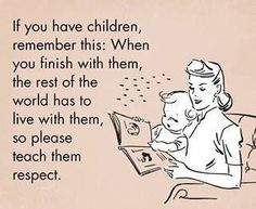 children manners