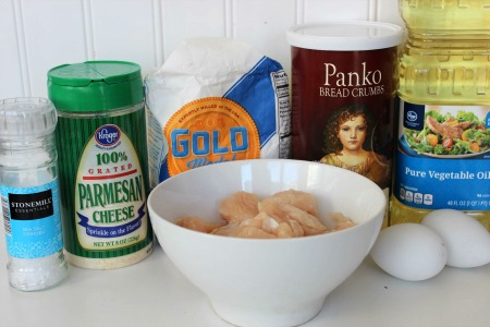 Baked Parmesan Chicken Nuggets ingredients