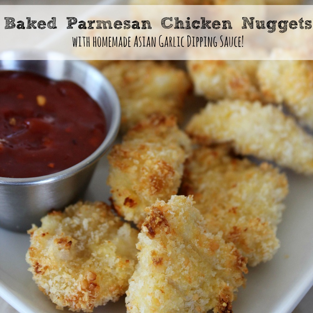 Baked Parmesan Chicken Nuggets sq