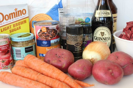 Guinness Beef Stew For St Patricks Day ingredients