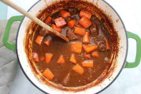 Guinness Beef Stew For St Patricks Day process2