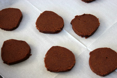 Homemade Thin Mints Copycat Girl Scout Cookies process3