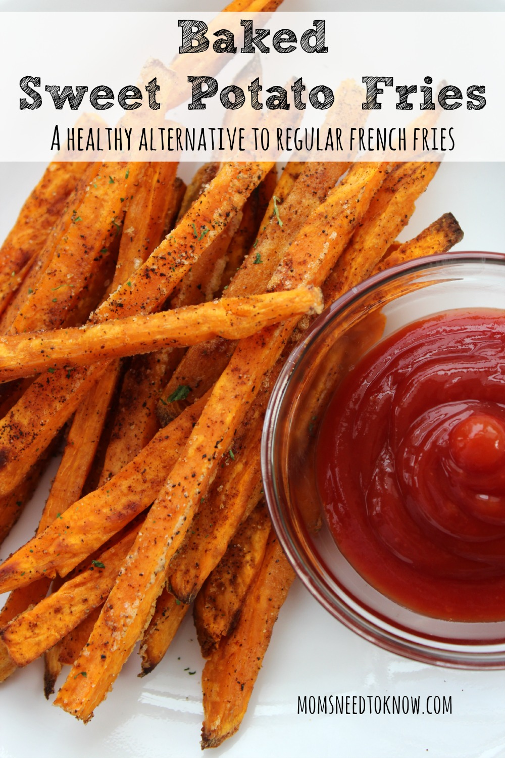 Baked Sweet Potato Fries Moms Need To Know