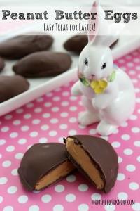 Peanut Butter Eggs  Easy Treat for Easter