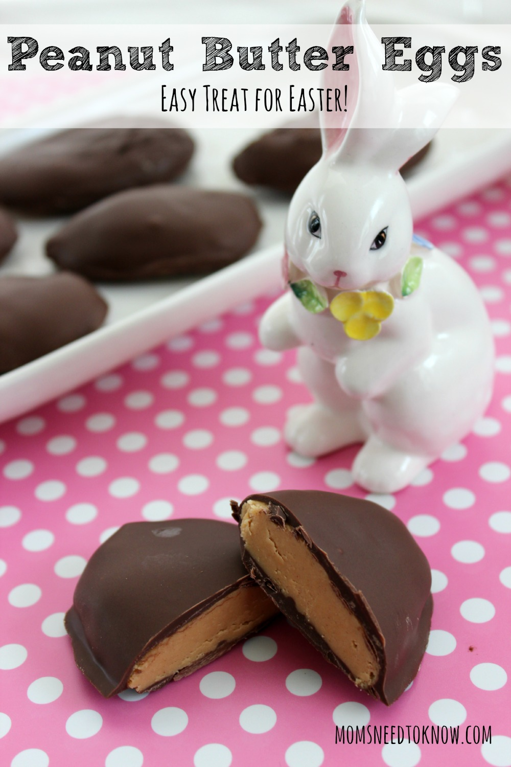 Peanut Butter Eggs Easy Treat for Easter
