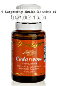4 Health Benefits of Cedarwood Essential Oil