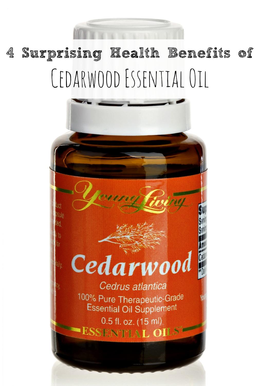 4 Surprising Health Benefits of Cedarwood Essential Oil