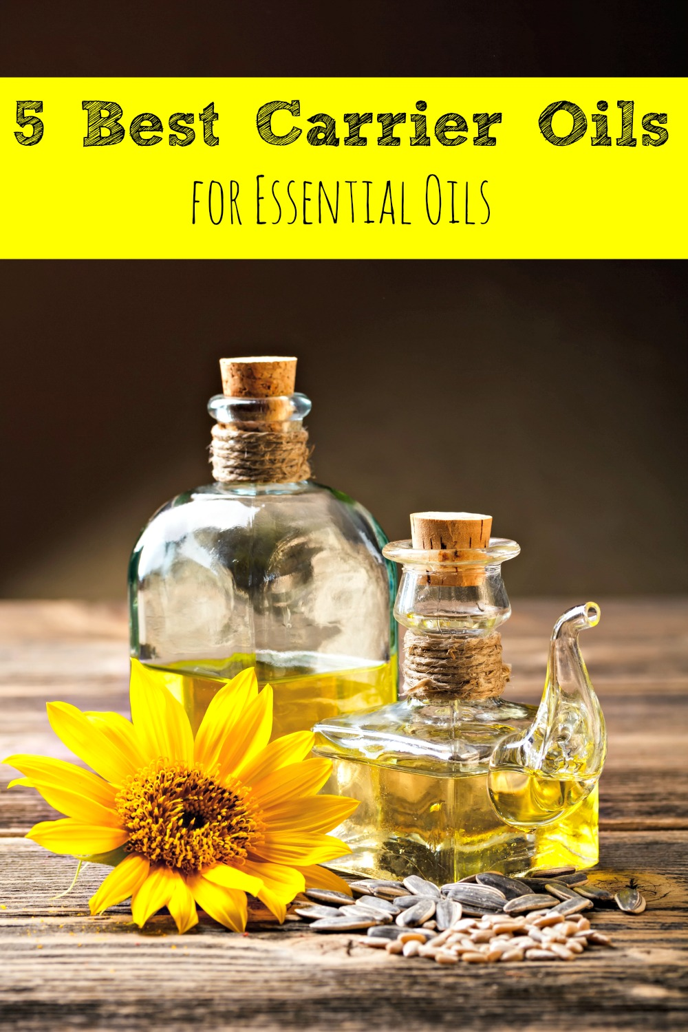 5 Best Carrier Oils for Essential Oils