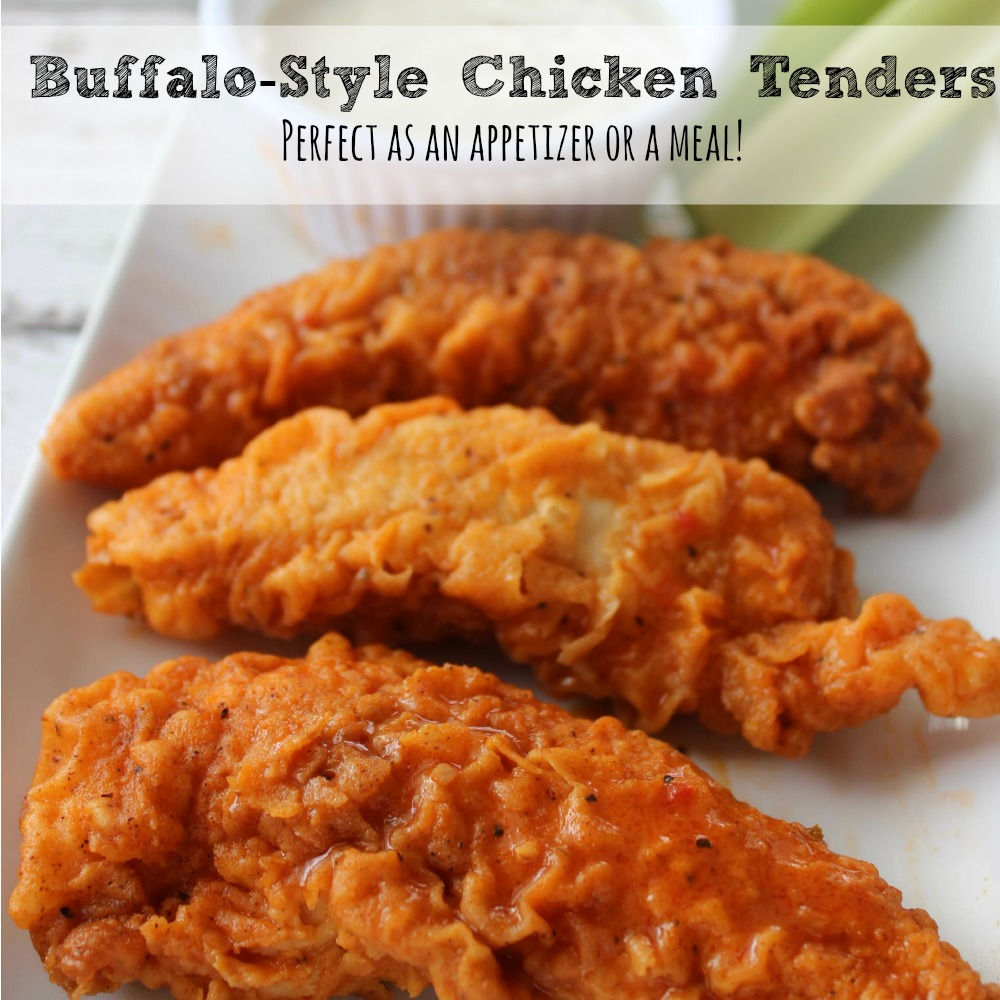 Buffalo Style Chicken Tenders Recipe sq