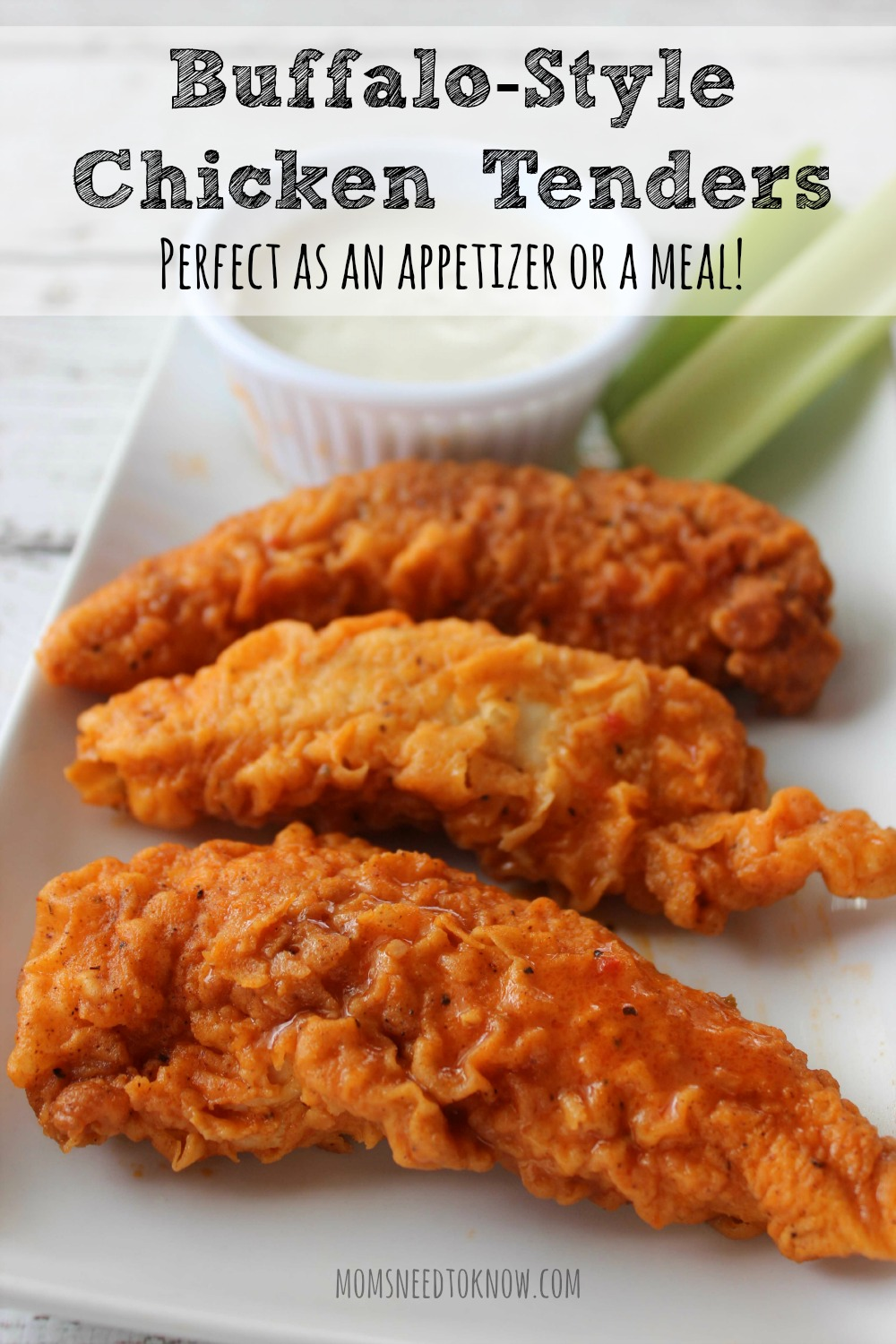 Buffalo Style Chicken Tenders Recipe