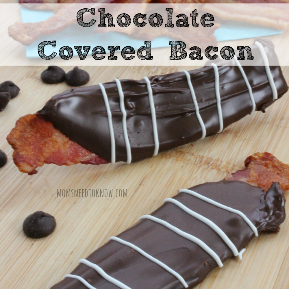 Chocolate Covered Bacon sq