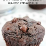 "Want another way to ""sneak"" lots of vitamins in to chocolate?  Try these Double Chocolate Zucchini Muffins (they freeze beautifully)"
