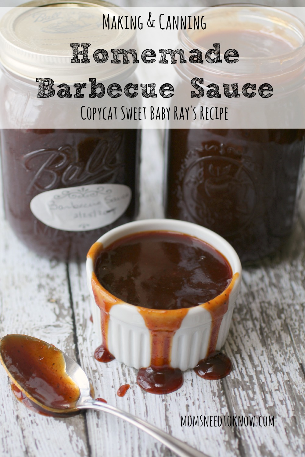 Making and Canning Homemade Barbecue Sauce Copycat Sweet Baby Rays Recipe