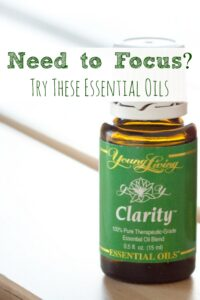 Need to Focus?  Try These Essential Oils!